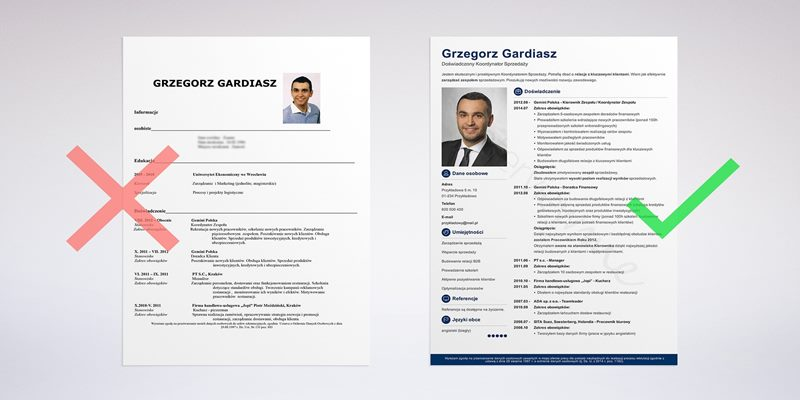 importance of a professional cv template
